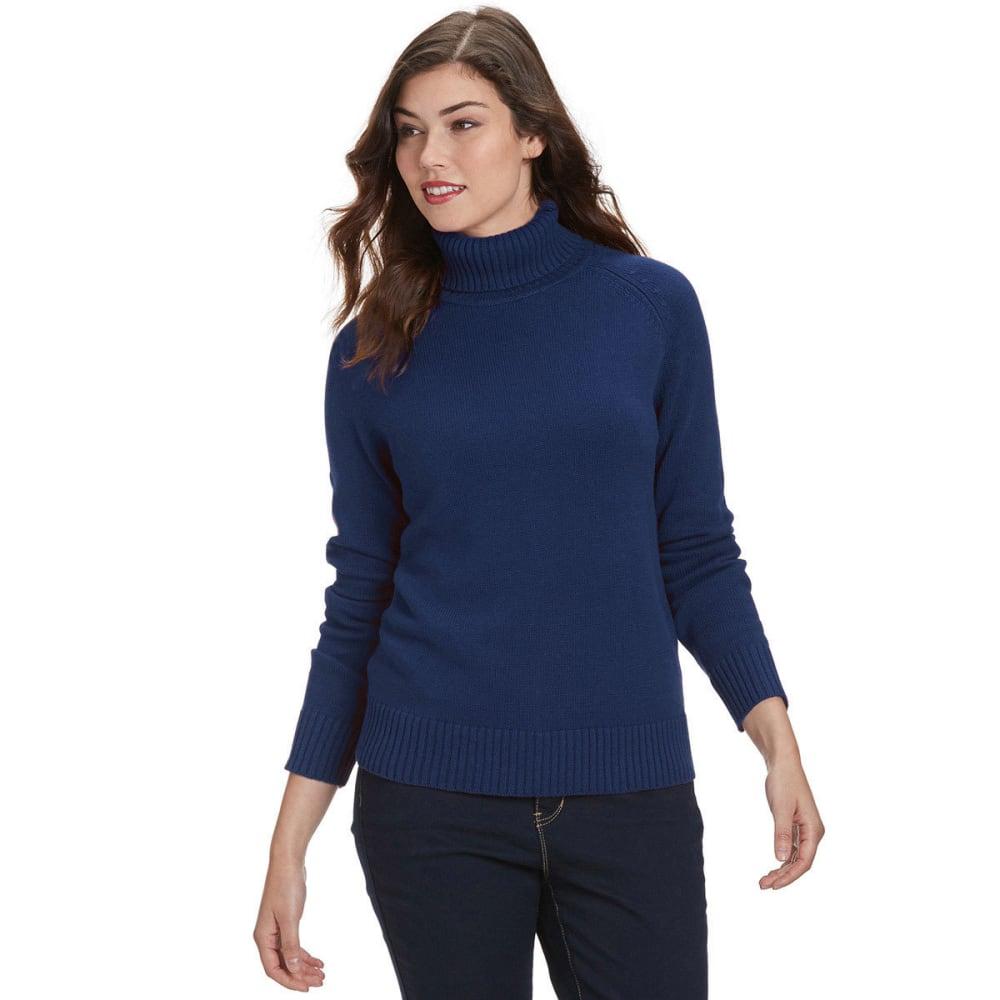 JEANNE PIERRE Women's Perfect Turtleneck Sweater - STARGAZER