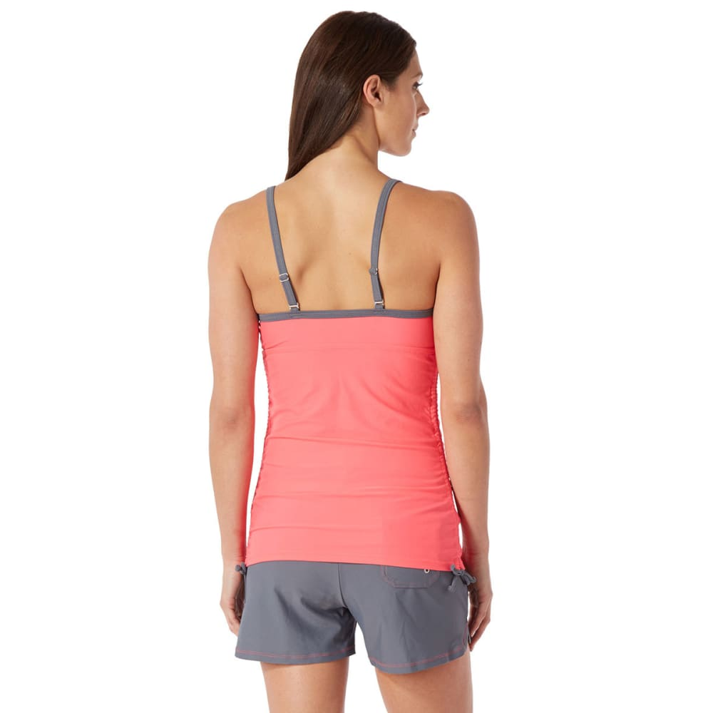 FREE COUNTRY Women's Colorblock Tankini - BLOWOUT - CORAL