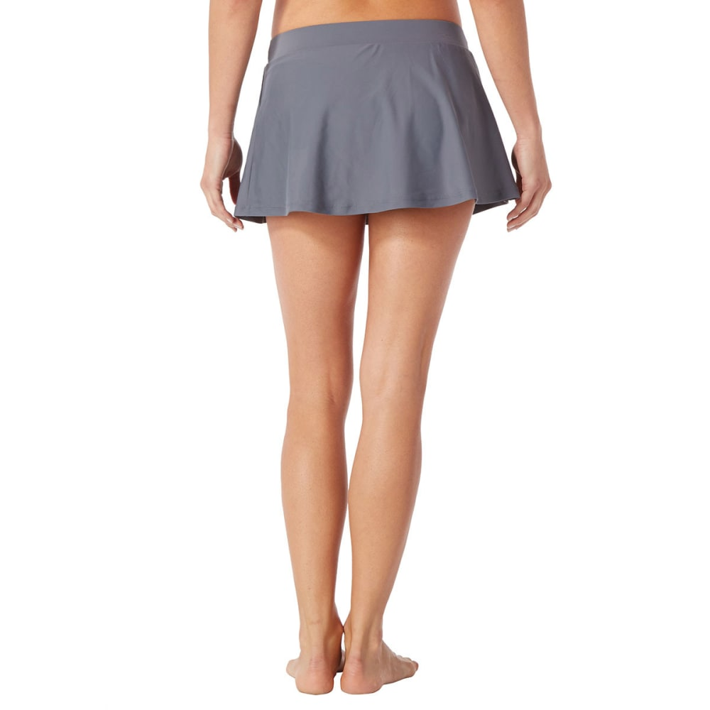 FREE COUNTRY Women's Belted Skirtini - BLOWOUT - STEEL