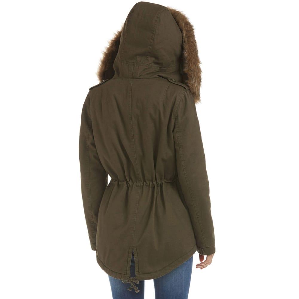 SANTA FE APPAREL Women's Twill Anorak Jacket - DARK PRAIRIE