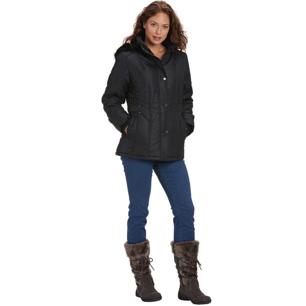 WEATHERTAMER Women's Promo Puffer Jacket, 28 in. - BLACK