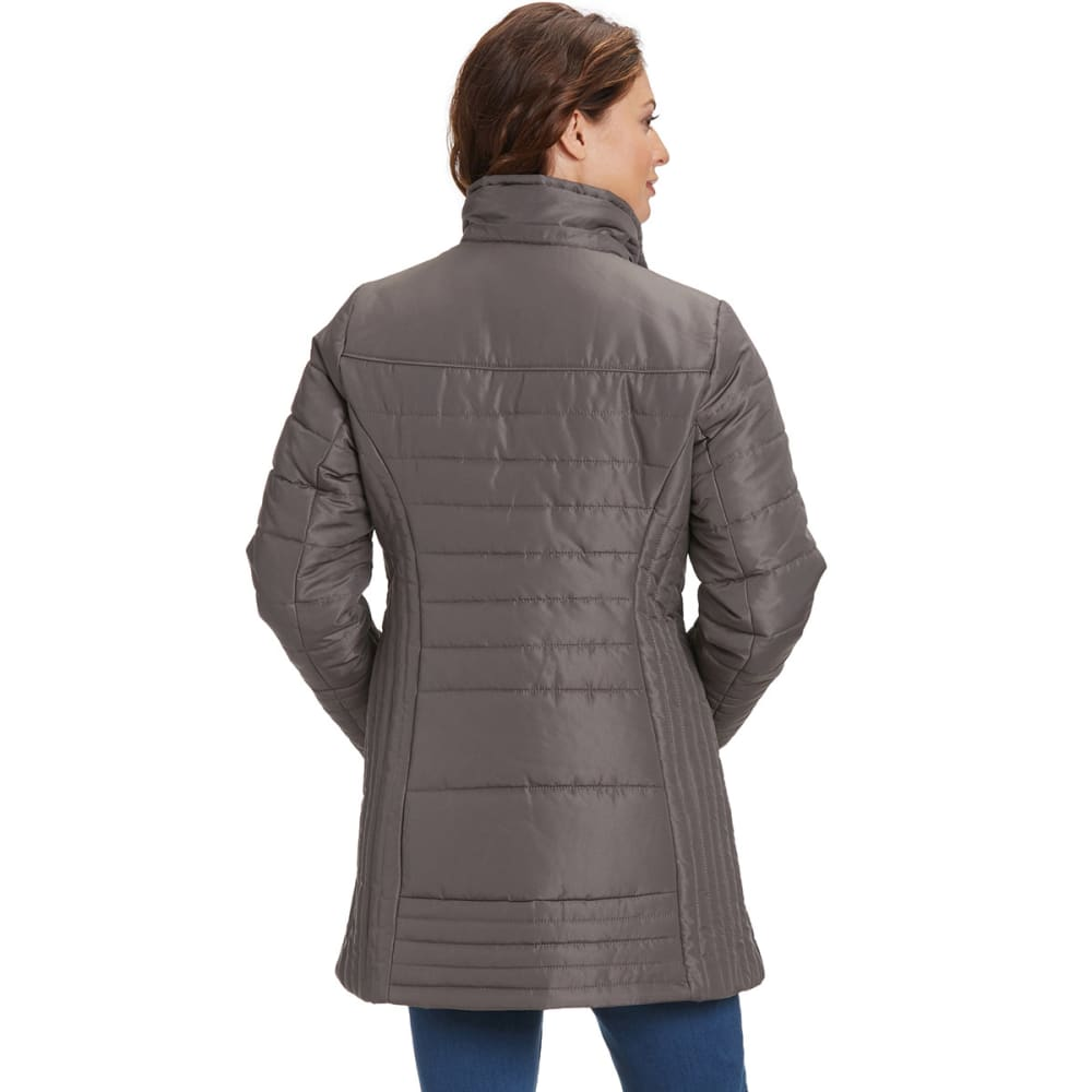 WEATHERTAMER Women's Promo Puffer Jacket, 32 in. - FOG HORIZONTAL
