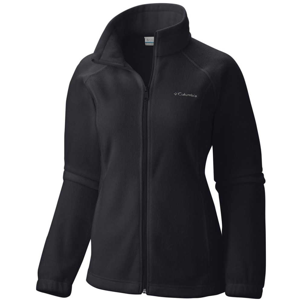 Columbia Women's Benton Springs Fleece Jacket - Black, S