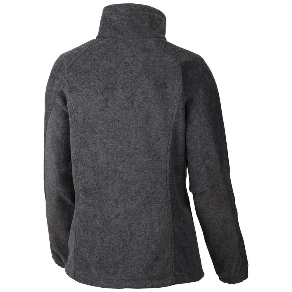 COLUMBIA Women's Benton Springs Fleece Jacket - 030-CHARCOAL HTHR
