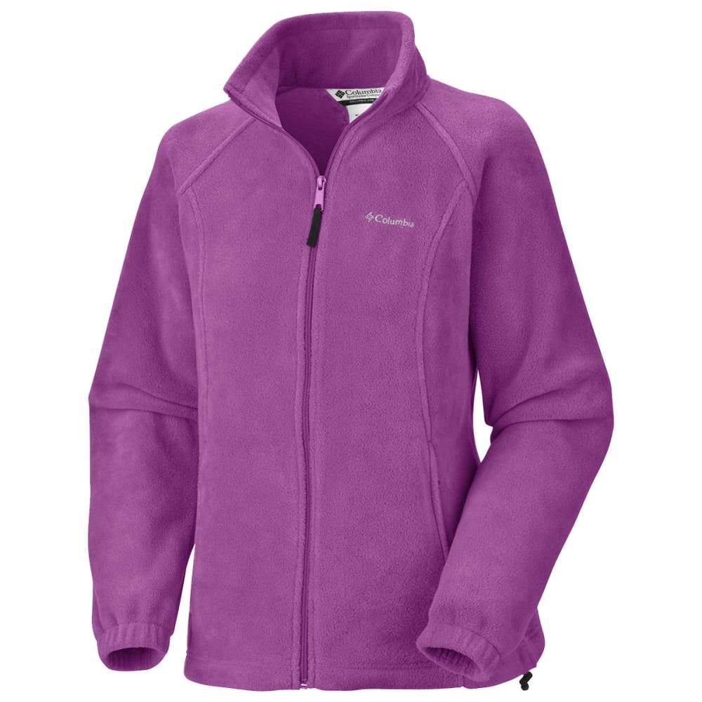 COLUMBIA Women's Benton Springs Fleece Jacket - 575-PLUM