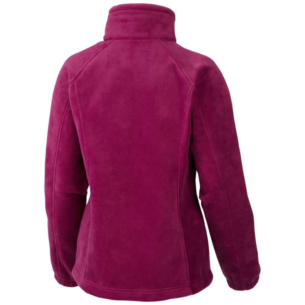 COLUMBIA Women's Benton Springs Fleece Jacket - 520-DARK RASPBERRY