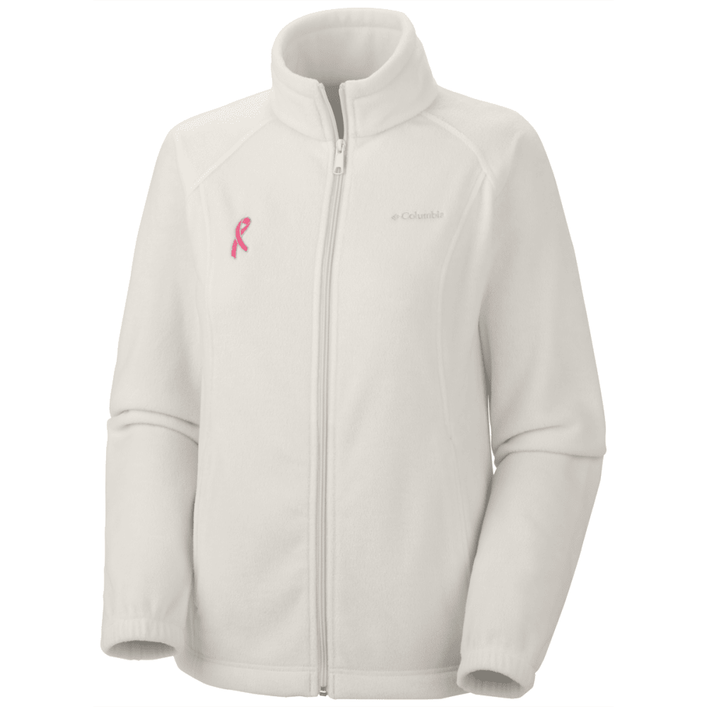 COLUMBIA Women's Tested Tough in Pink Benton Springs Full Zip Jacket - VALUE DEAL - WINTER MOSS