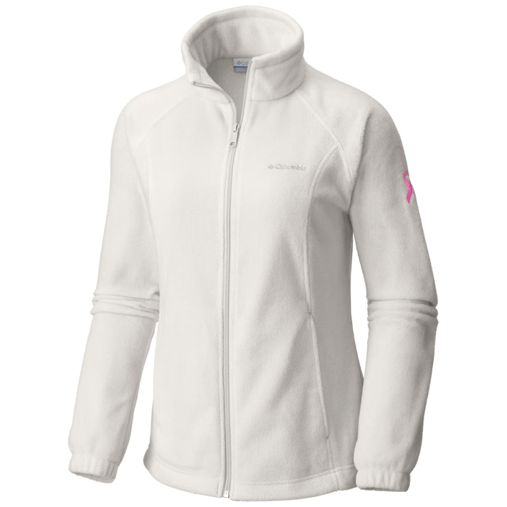 COLUMBIA Women's Tested Tough in Pink Benton Springs Full Zip Jacket XL