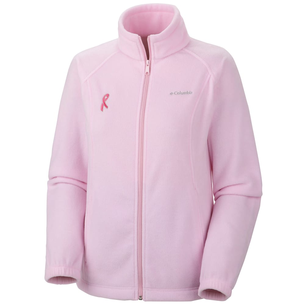 COLUMBIA Women's Tested Tough in Pink Benton Springs Full Zip Jacket - VALUE DEAL - -635 ISLA