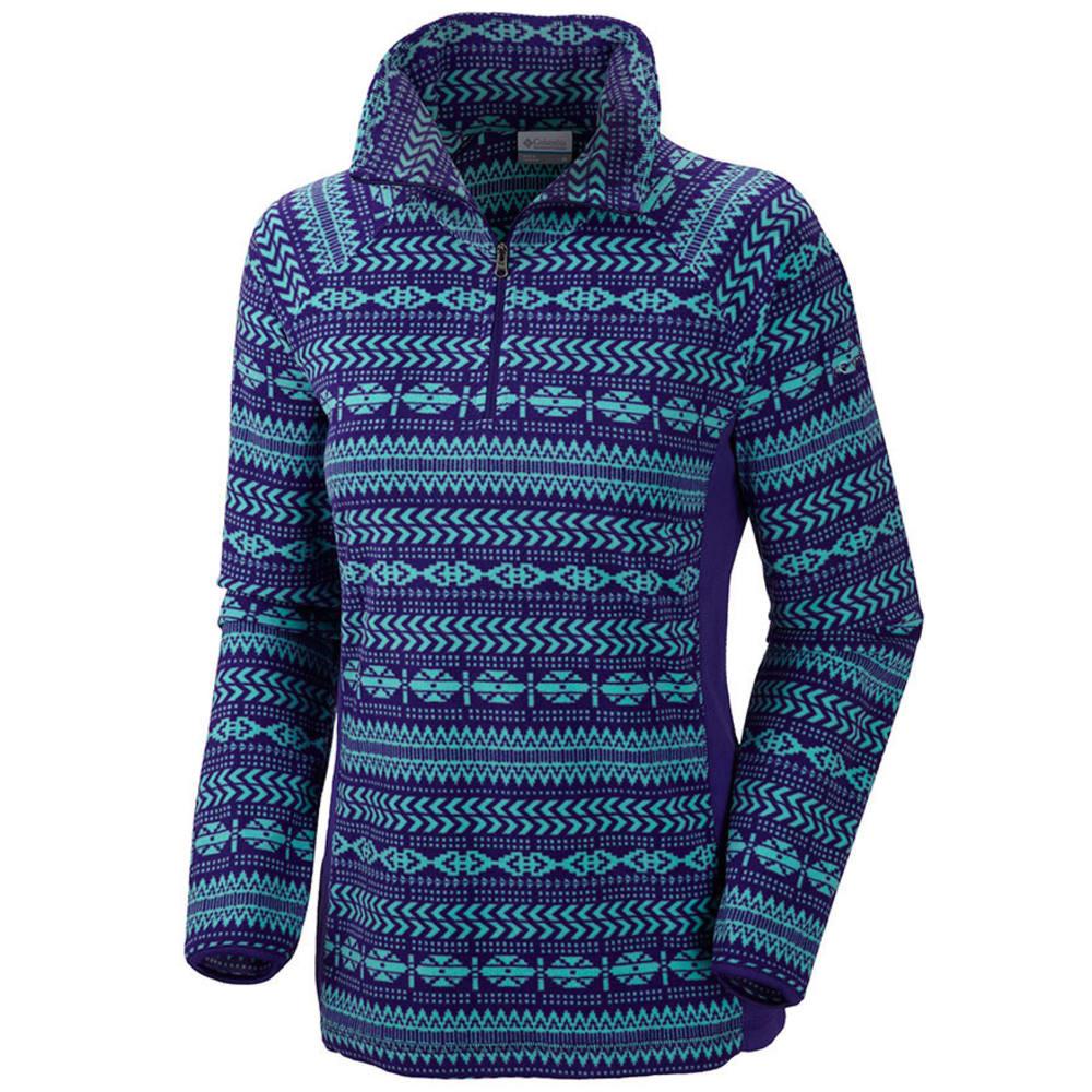 COLUMBIA Women's Glacial Fleece III 1/2 Zip Jacket - PURPLE