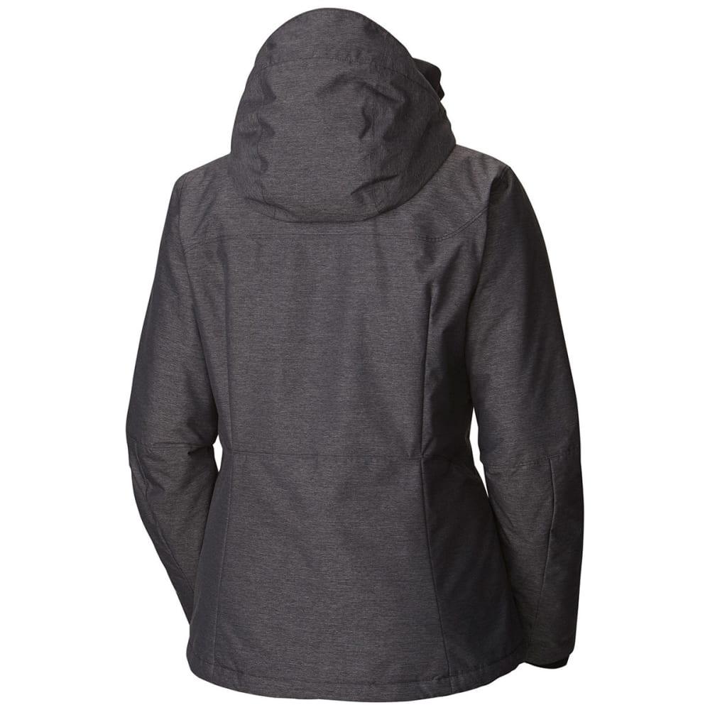 COLUMBIA Women's Alpine Action Omni-Heat Jacket - 010-BLACK CROSSDYE