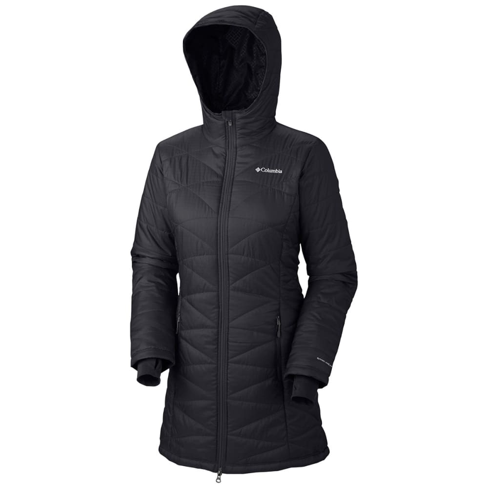 COLUMBIA Women's Mighty Lite Hooded Jacket - 011-BLACK