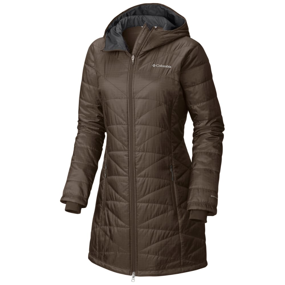 COLUMBIA Women's Mighty Lite Hooded Jacket - 245-T MAJOR