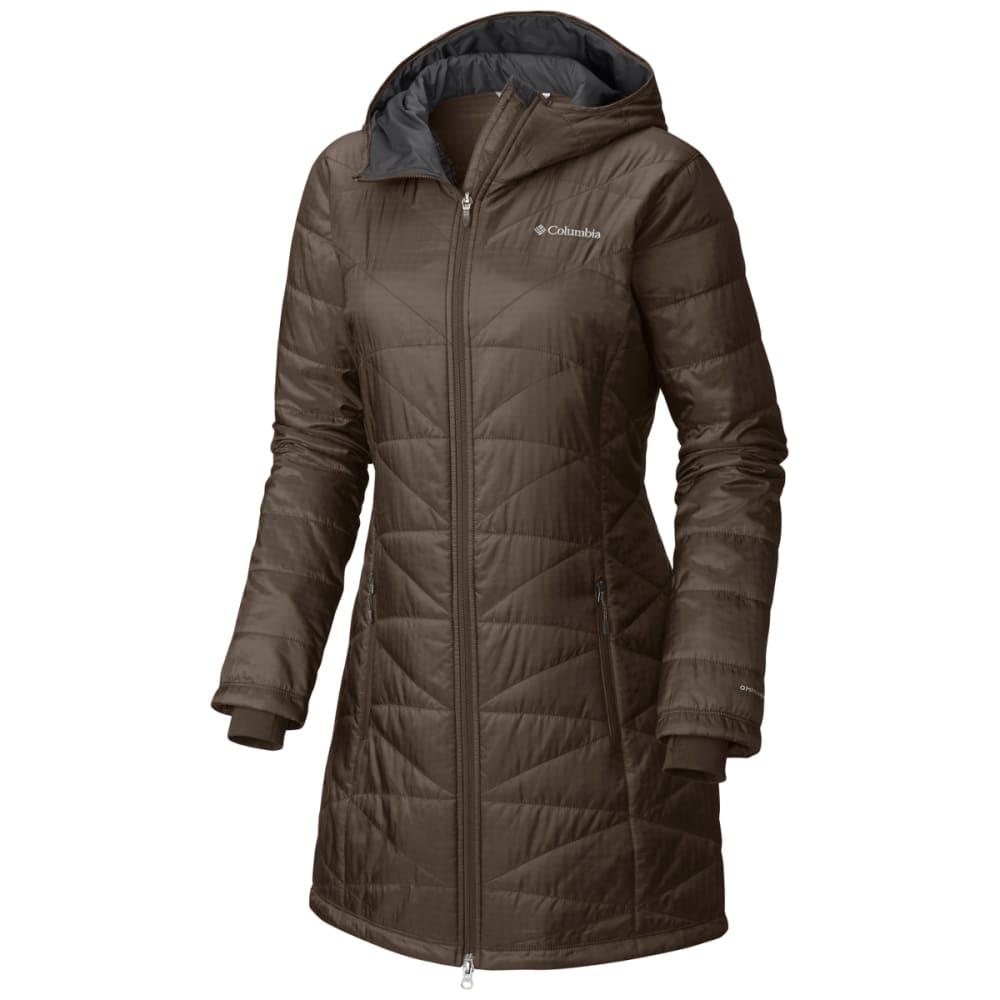 COLUMBIA Women's Mighty Lite Hooded Jacket - 245-T MAJOR