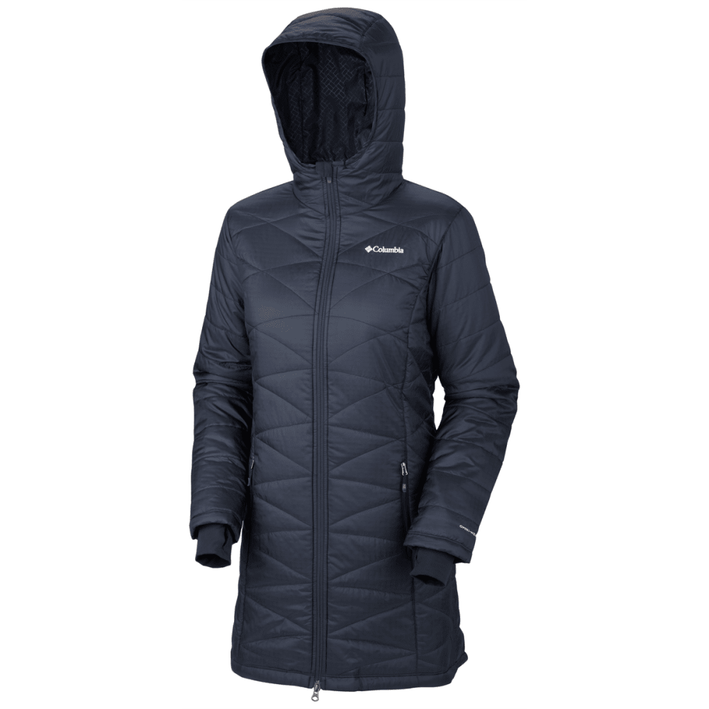 COLUMBIA Women's Mighty Lite Hooded Jacket - ABYSS