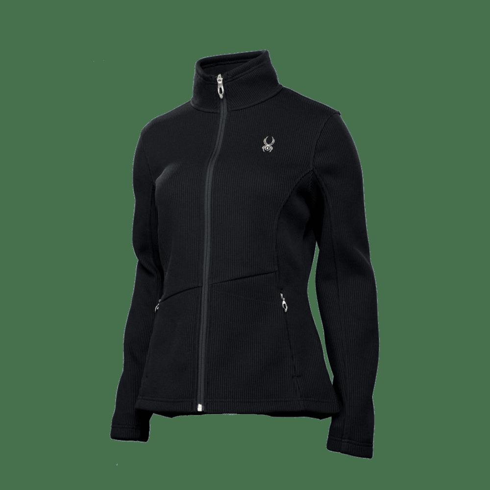 Spyder Women's Endure Core Sweater Jacket - BLACK