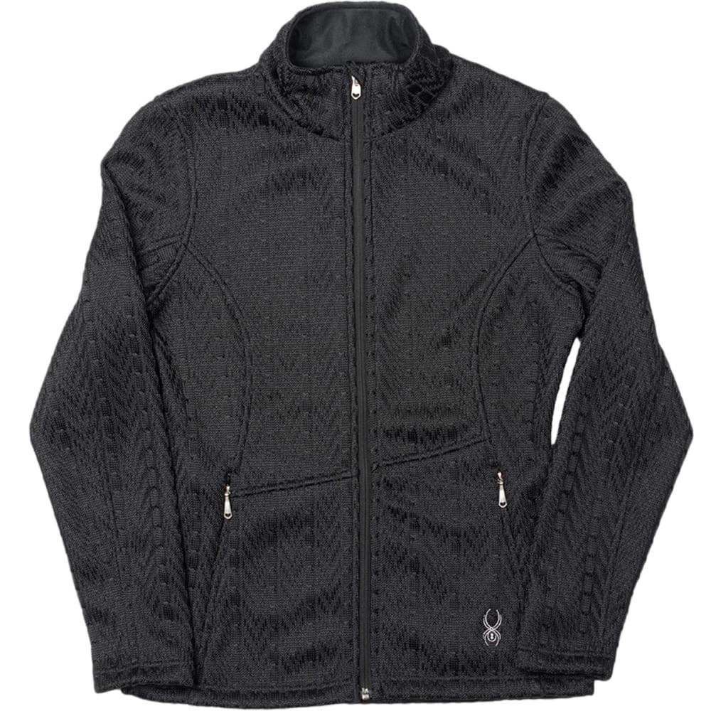 SPYDER Women's Major Cable Core Sweater - BLACK