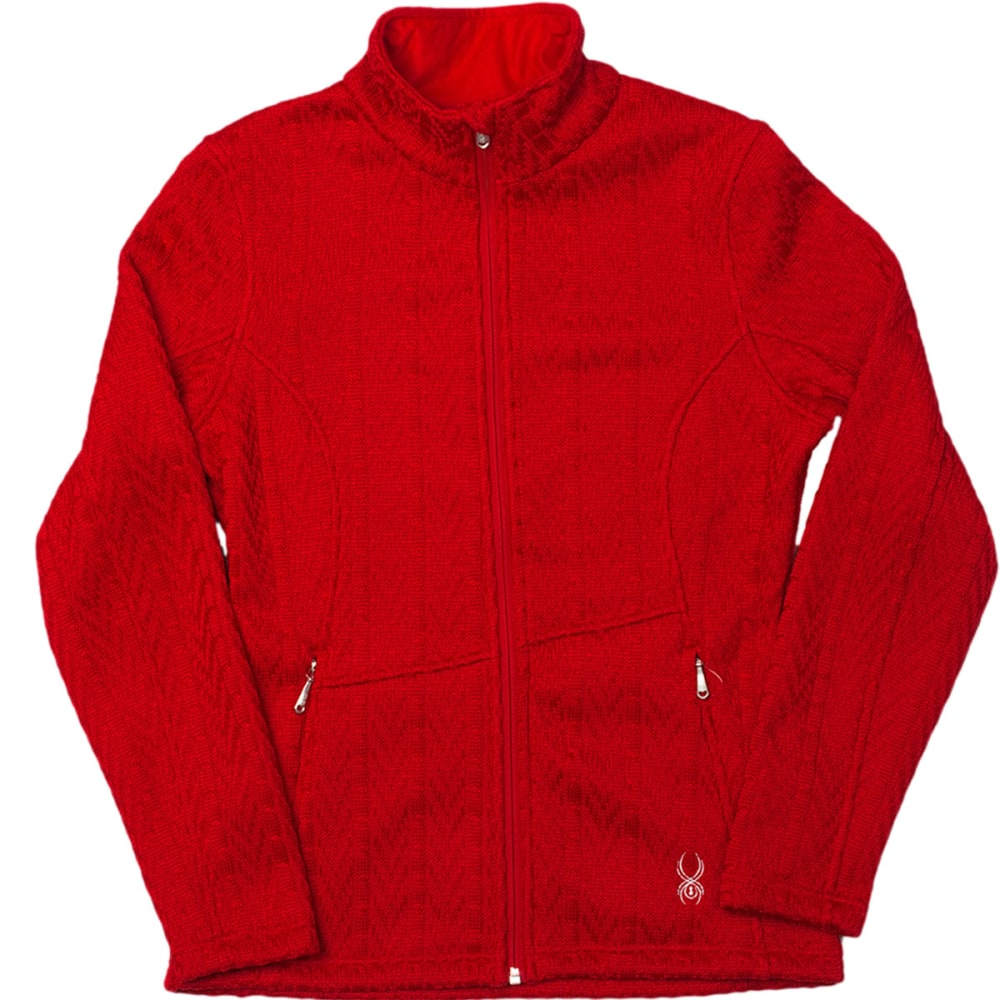 SPYDER Women's Major Cable Core Sweater - VAMPIRE