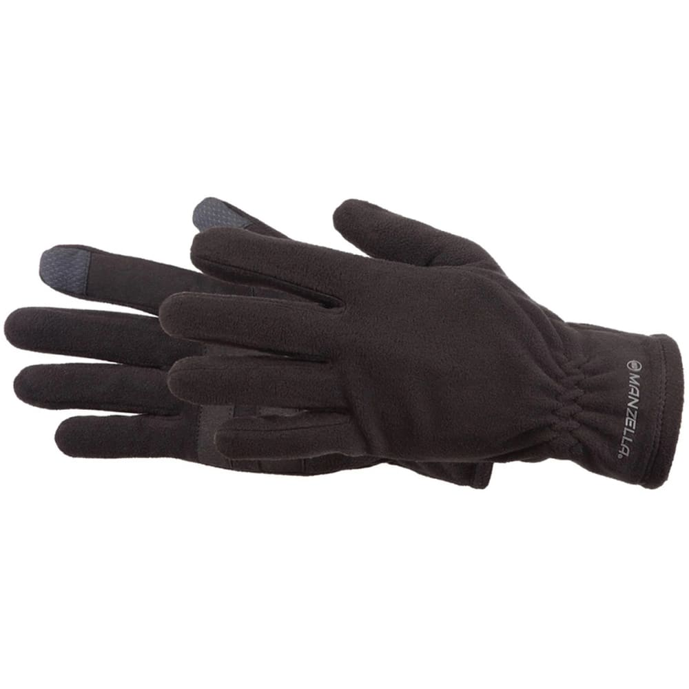 MANZELLA Tahoe Ultra Touch Tip Gloves - BLACK