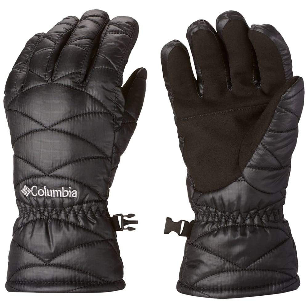 COLUMBIA Women's Mighty Lite Gloves - BLACK