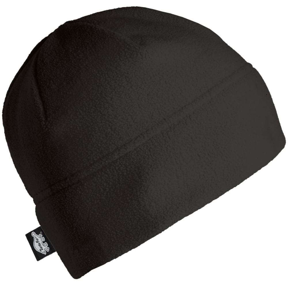 TURTLE FUR Chelonia 150 Double Layer Fleece Hat - BLACK - 101