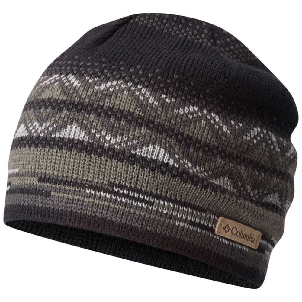 COLUMBIA Women's Alpine Action Printed Beanie - 017-BLACK/STRIPEFAIR