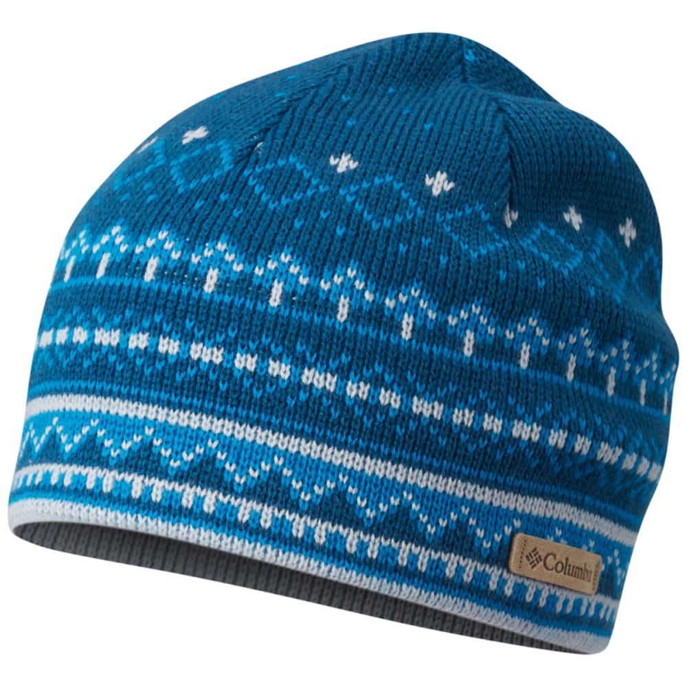 COLUMBIA Women's Alpine Action Printed Beanie - 490T- PHOENIX BLUE