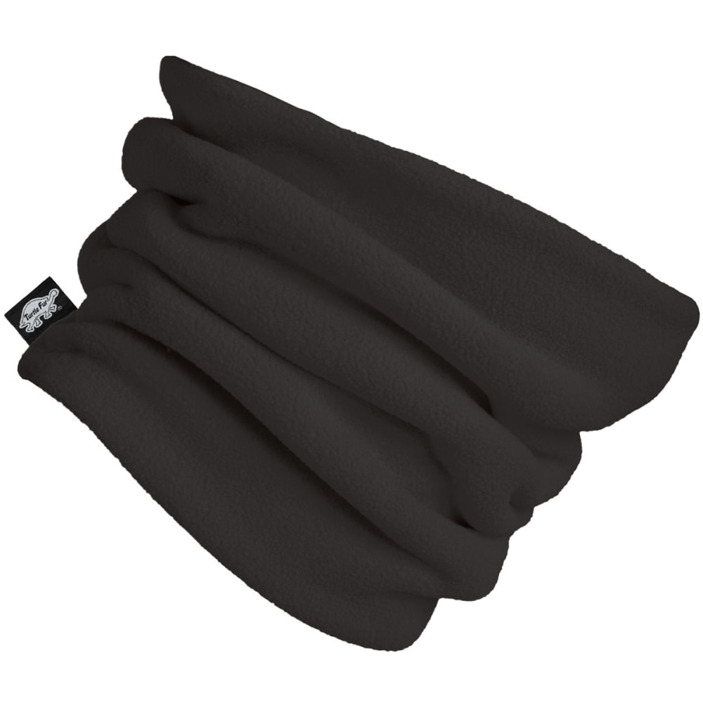 TURTLE FUR Chelonia 150 Double Layer Neck Warmer - BLACK - 101