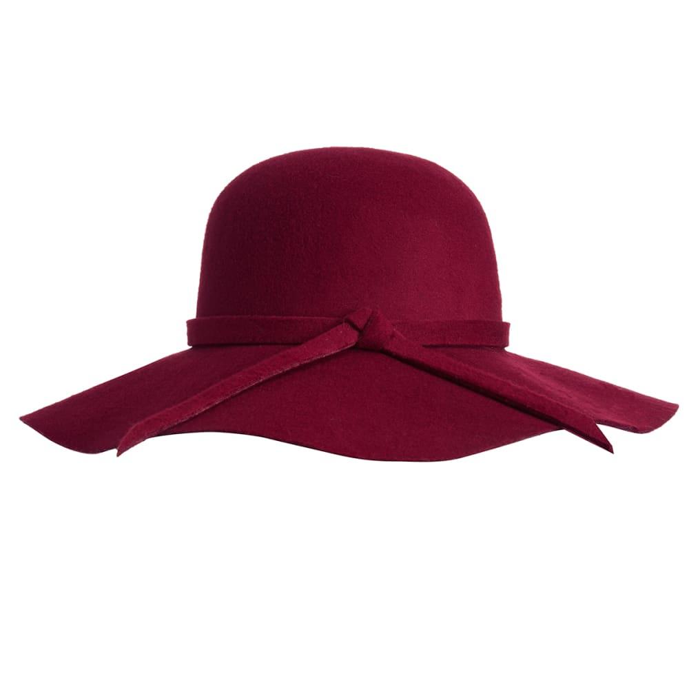 AMICI Juniors' Floppy Hat - BURGUNDY