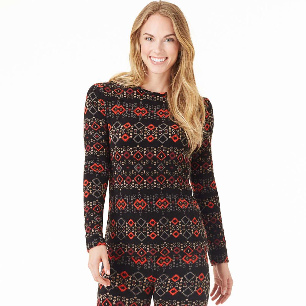 CUDDL DUDS Women's Fleecewear Long-Sleeve Crew - MISCELLANEOUS
