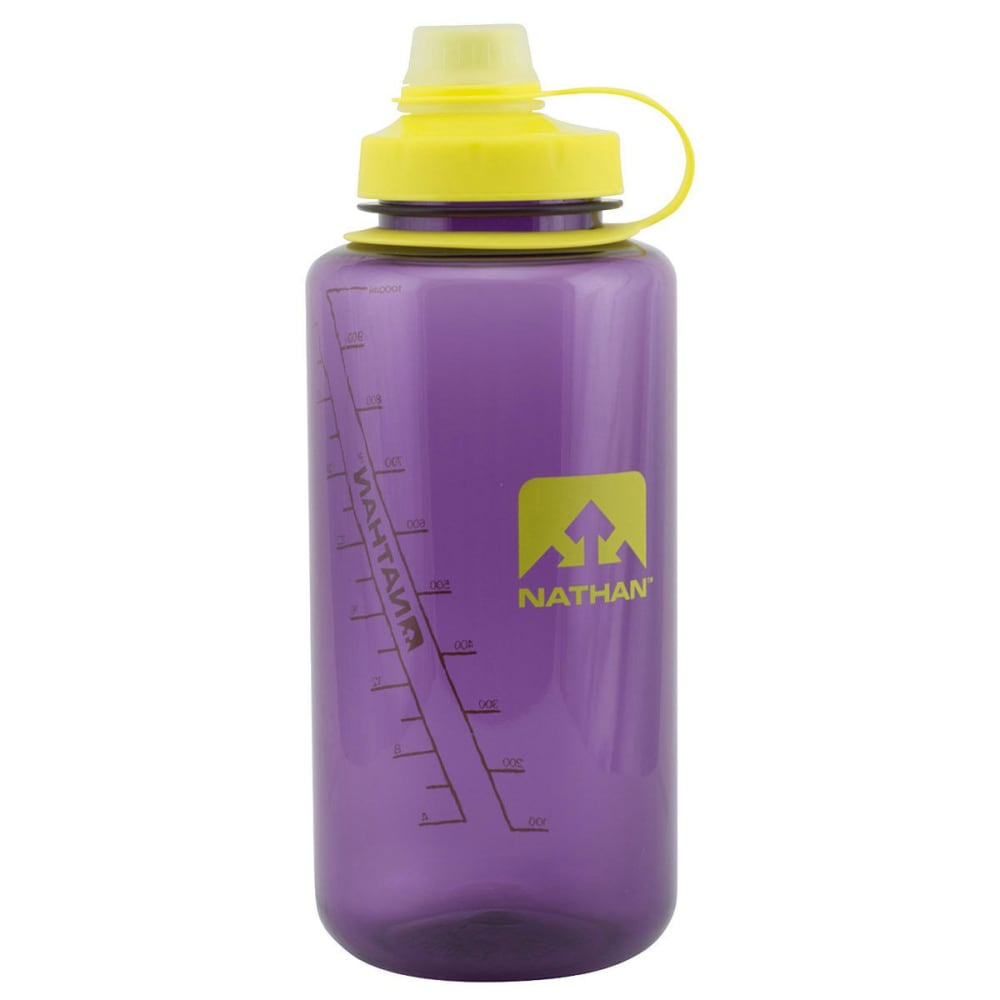 NATHAN BigShot Narrow Mouth Tritan Bottle - IMPERIAL PURPLE