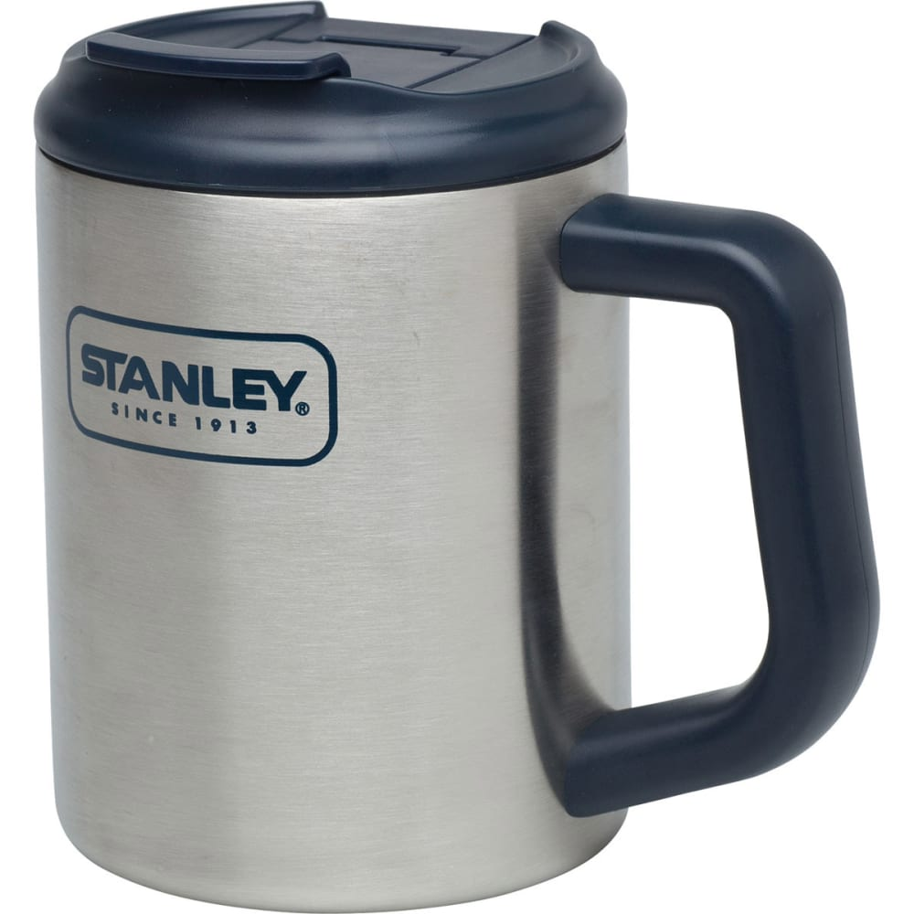 STANLEY Adventure SS Camp Mug, 16 oz. - STAINLESS