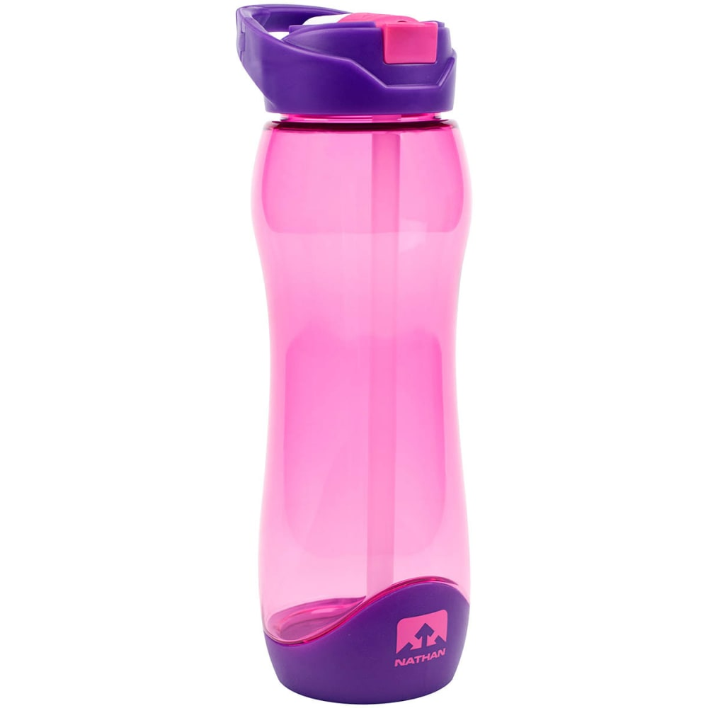 NATHAN Flipstream Tritan 750 mL Water Bottle - FUCHSIA -TNIP