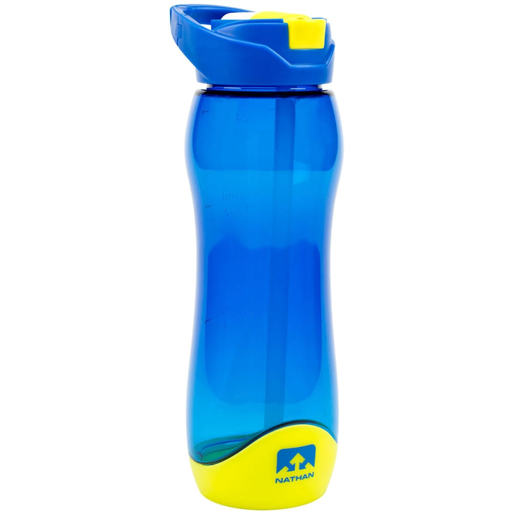 NATHAN Flipstream Tritan 750 mL Water Bottle - BLUE-TNU