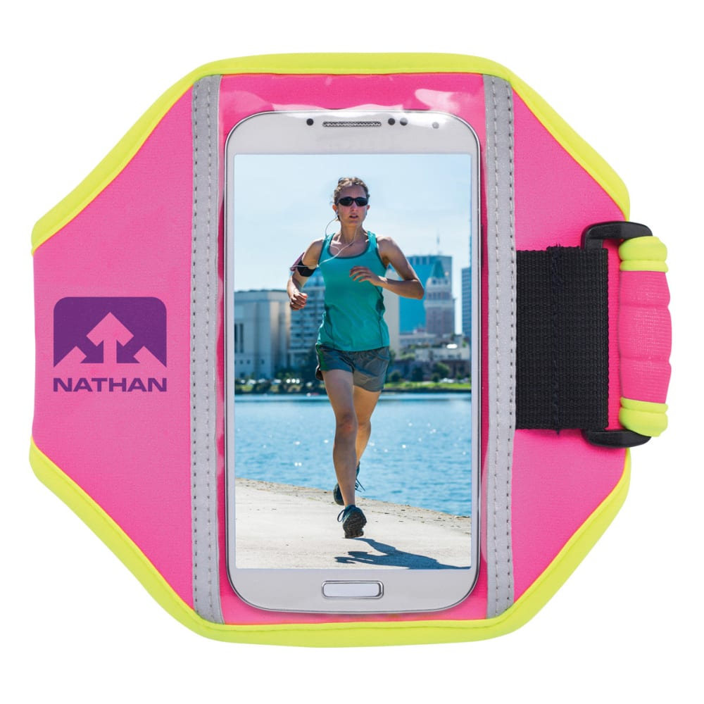 NATHAN Super 5K Arm Band - FUCHSIA
