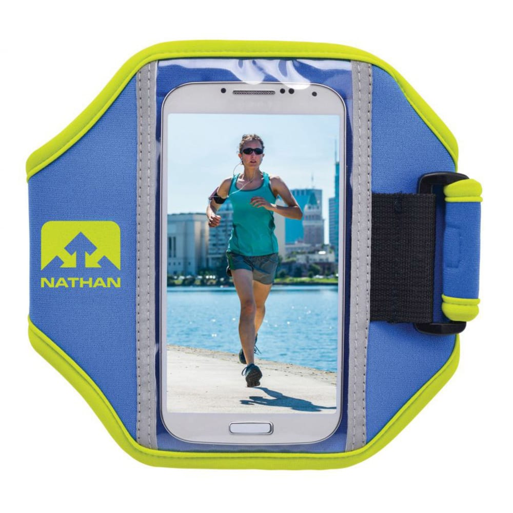 NATHAN Super 5K Arm Band - NATHAN BLUE