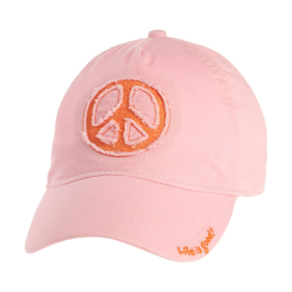 LIFE IS GOOD Women's High 5 Tattered Chill Cap - PETAL PINK