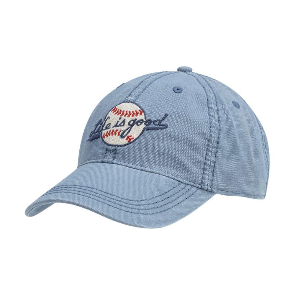 LIFE IS GOOD Men's Heavy Stitch Baseball Chill Cap - SHADOW