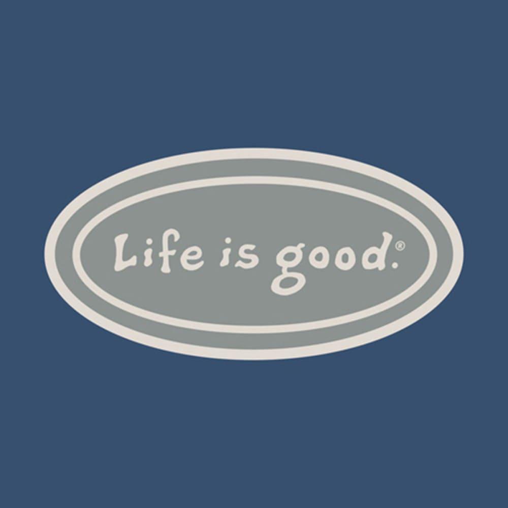 LIFE IS GOOD Women's Oval Chill Cap - DARK BLUE