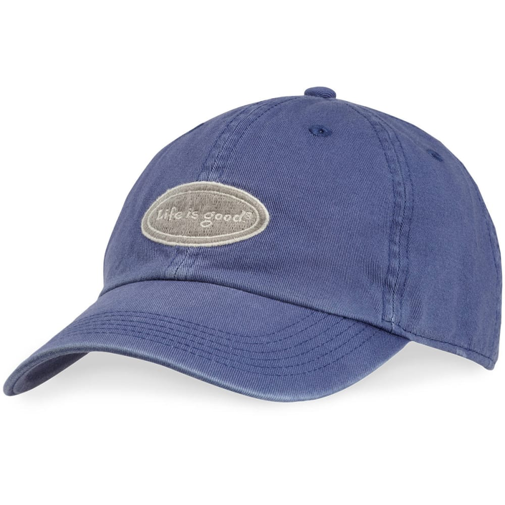 LIFE IS GOOD Women's Oval Chill Cap - DARK BLUE