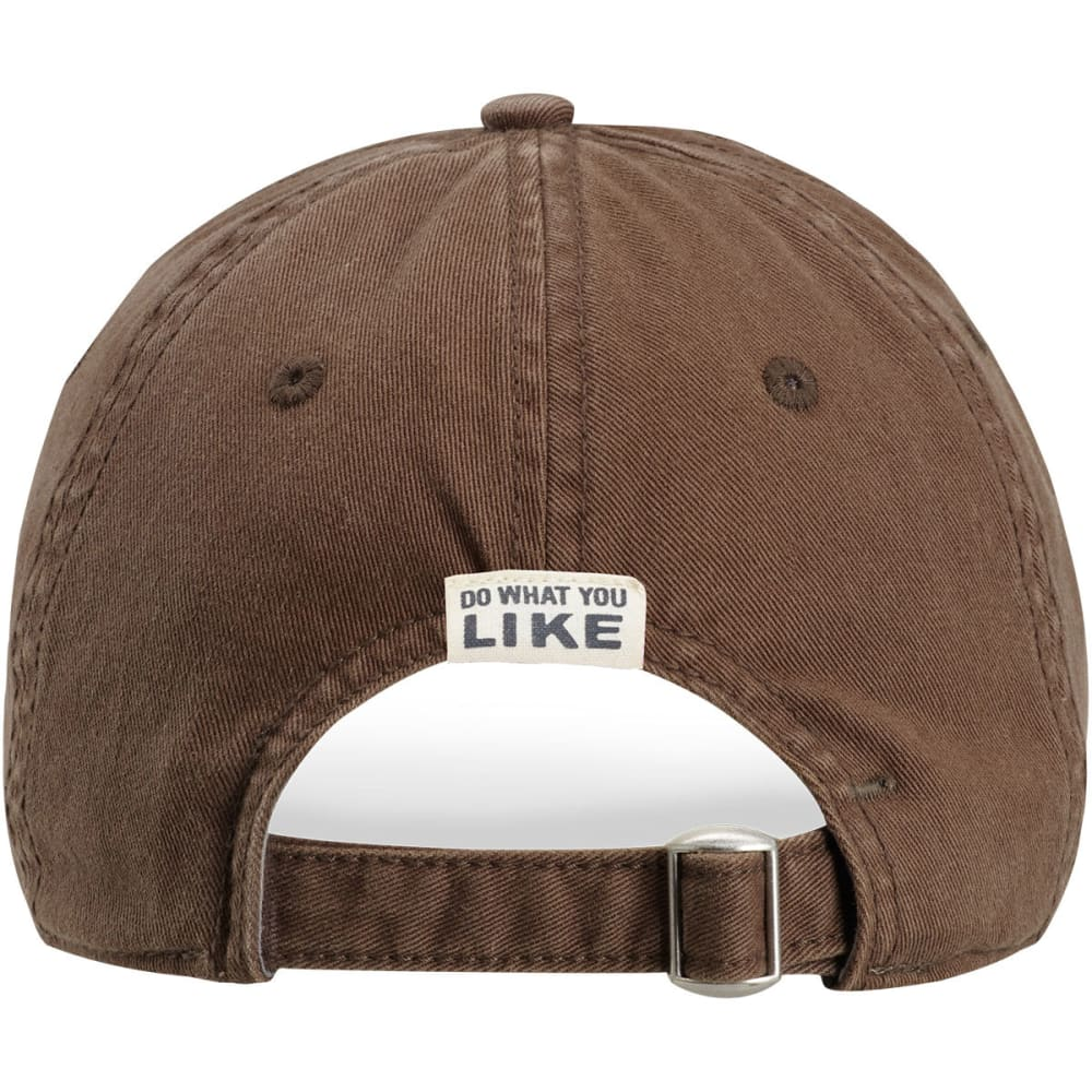LIFE IS GOOD Women's Not All Who Wander Are Lost Cap - DARK BROWN