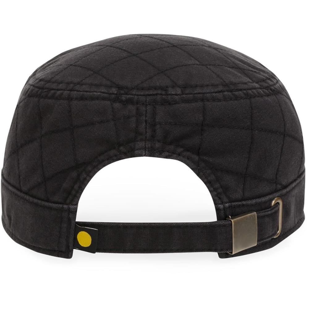LIFE IS GOOD Women's Quilted Cadet Cap - NIGHT BLACK