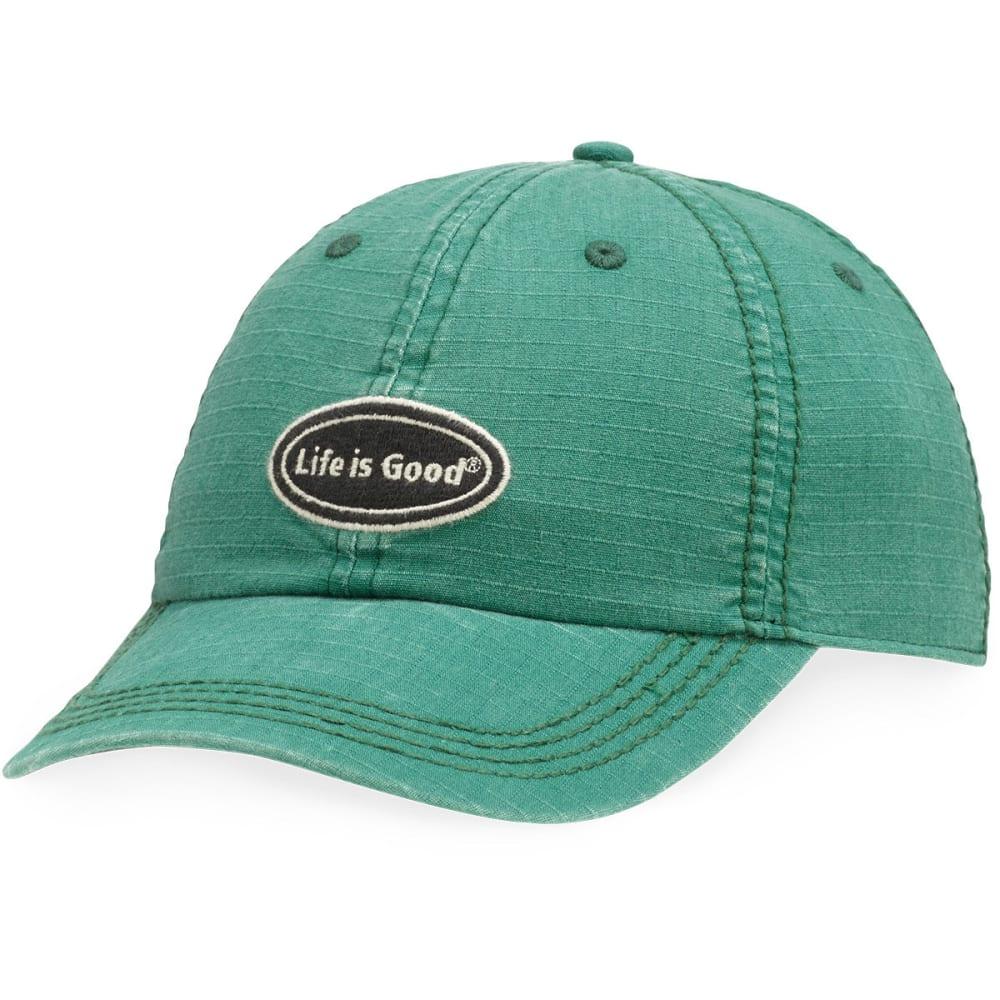 LIFE IS GOOD Ripstop Chill Cap - HUNTER GREEN