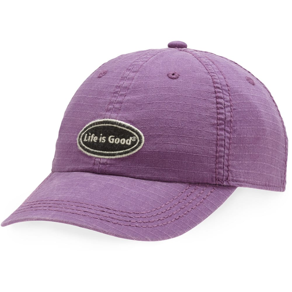 LIFE IS GOOD Ripstop Chill Cap - PLUM