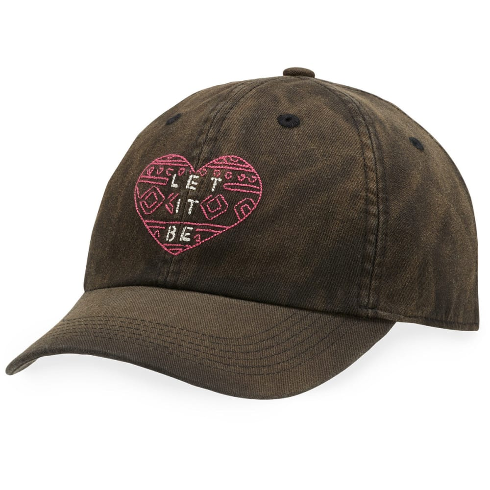 LIFE IS GOOD Women's Let It Be Chill Cap - NIGHT BLACK