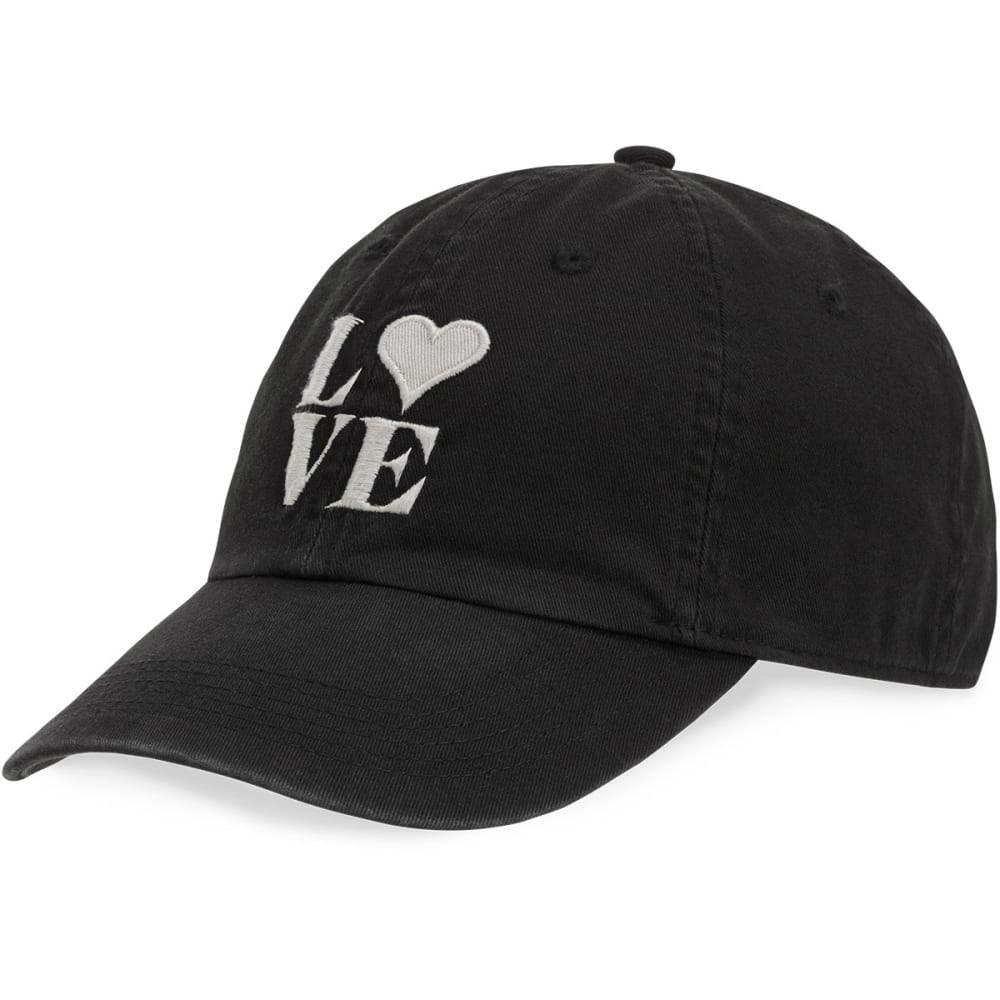 LIFE IS GOOD Women's Love Chill Cap - NIGHT BLACK