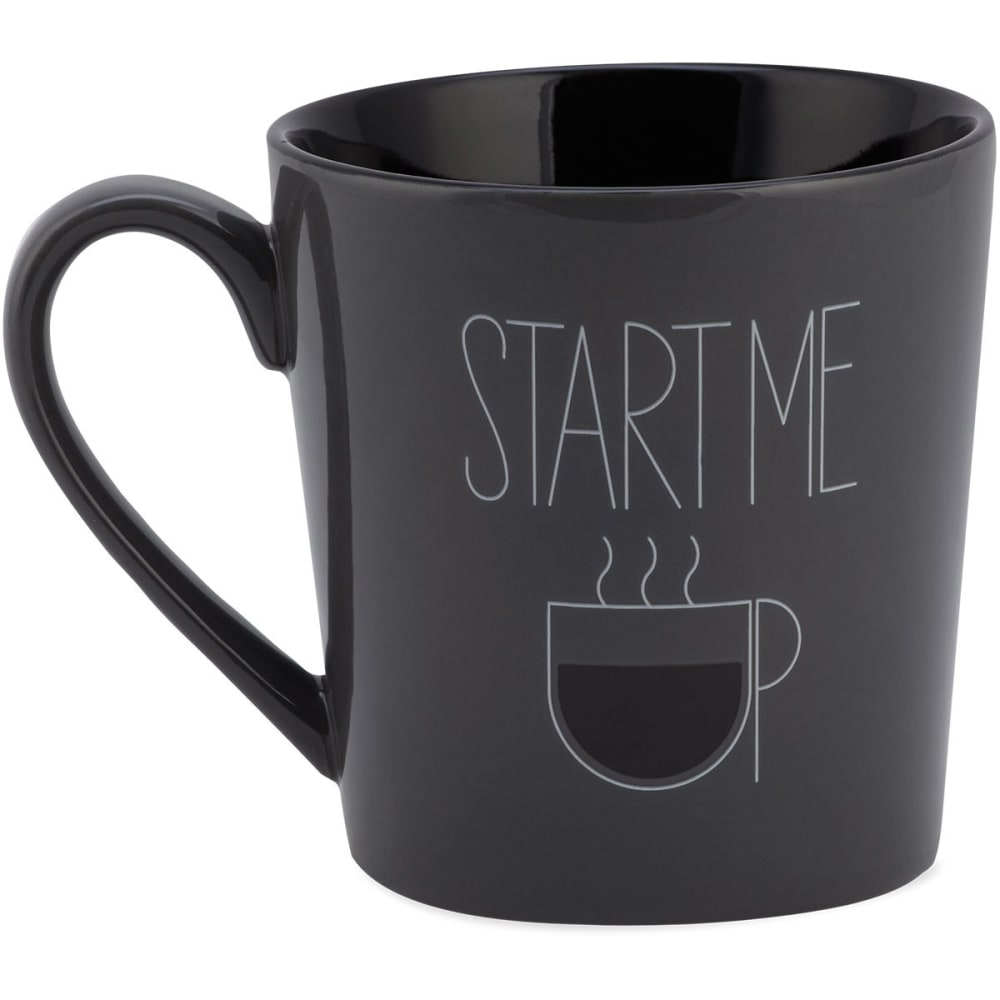 LIFE IS GOOD Start Me Up Everyday Mug - GREY
