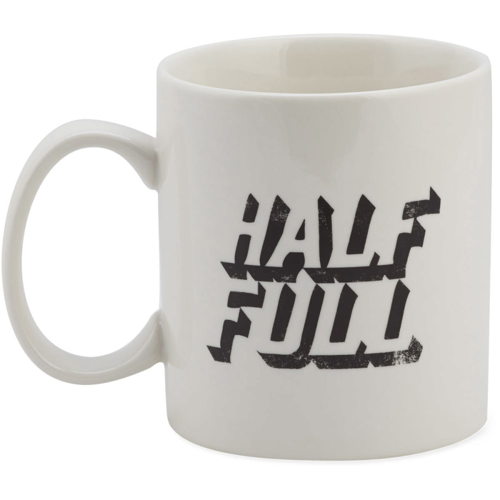 LIFE IS GOOD Jakes Mug Half Full - IVORY