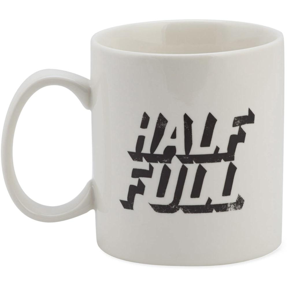 LIFE IS GOOD Jakes Mug Half Full - IVORY