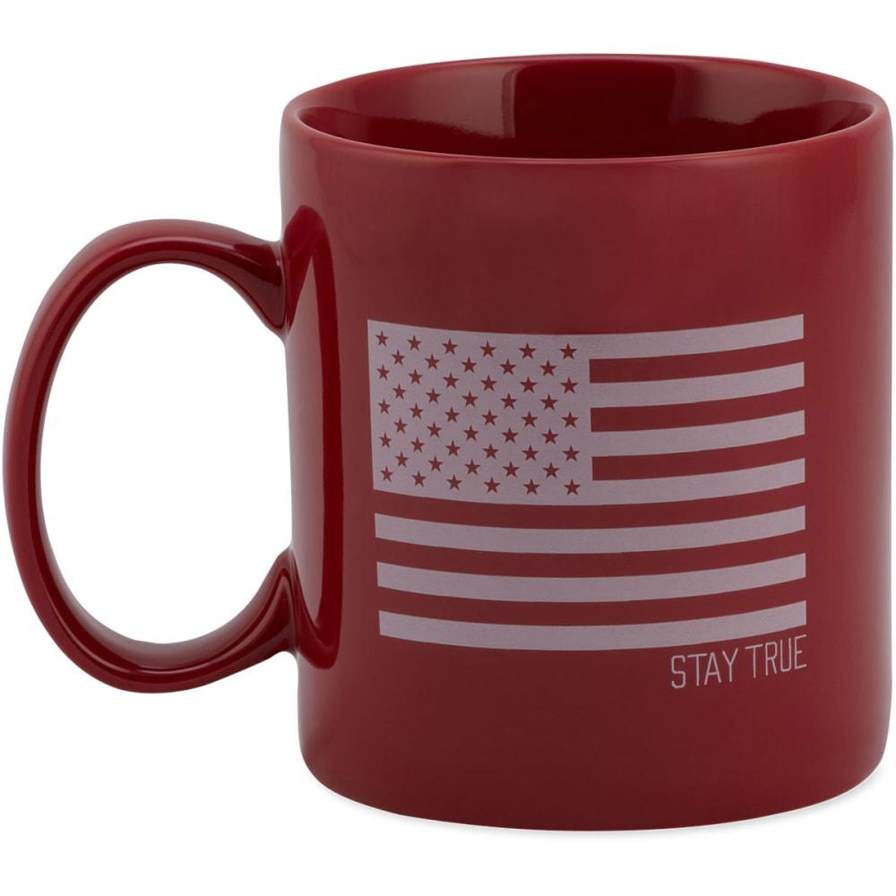 LIFE IS GOOD Flag Jake's Mug - NANTUCKET RED